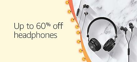 Headphones up to 60% off