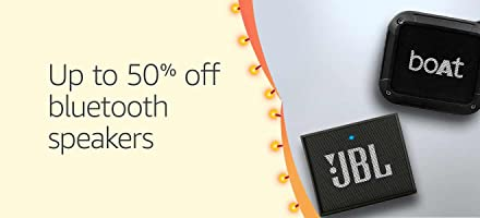 Bluetooths speakers up to 50% off