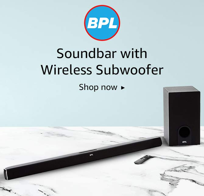 BPL soundbars