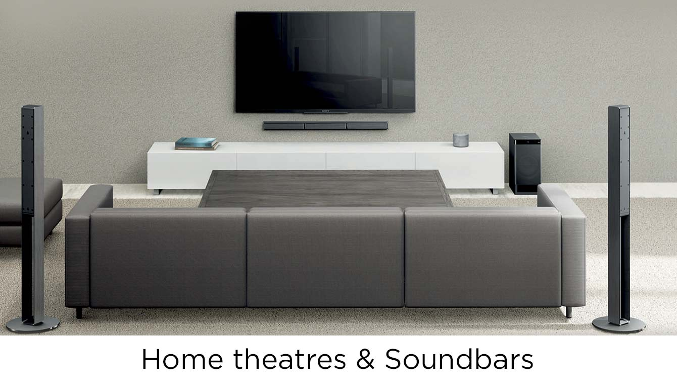 Home theatre and Soundbar