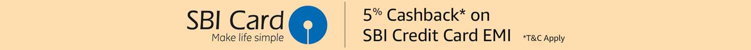 SBI Cashback offer