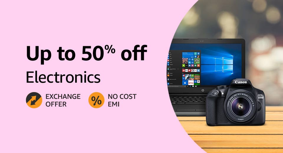 Up to 50% off: Electronics- Prime Day offers