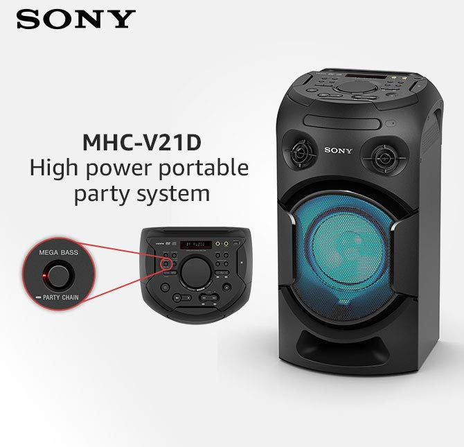 Sony party speakers
