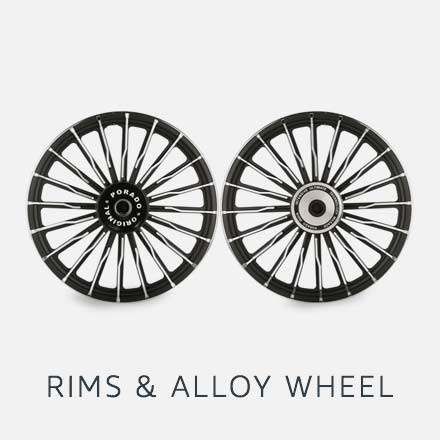 Rims and alloy wheel
