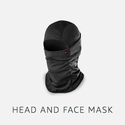 Head and face mask