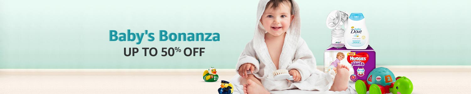 Baby's Bonanza: Up to 50% off