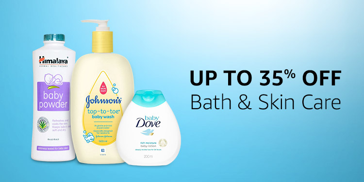 Up to 35% off Bath & Skin Care