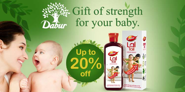 Up to 20% off Baby Dove