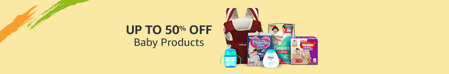Up to 50% off Baby Products