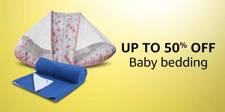 Up to 50% off Baby Bedding