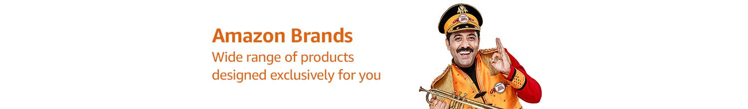 Amazon Brands Products designed exclusively for you
