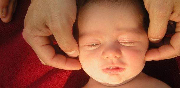 Newborn Massaging