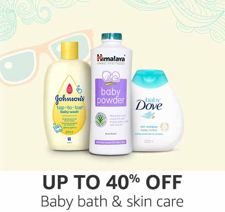 Up to 30% off: Baby skin care, bath & grooming