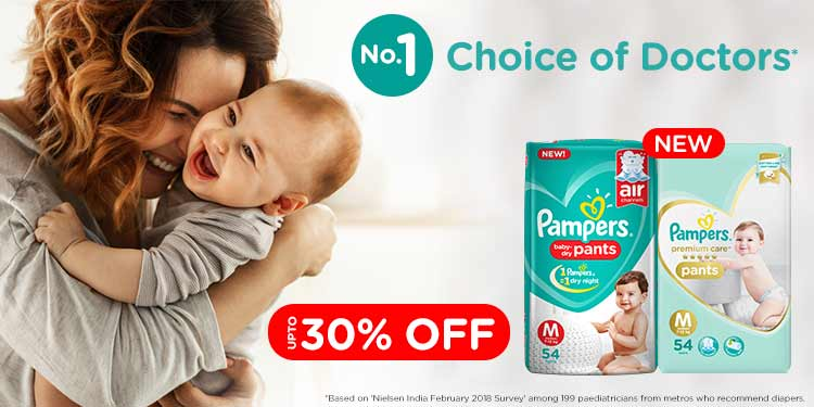 Pampers: Up to 35% off