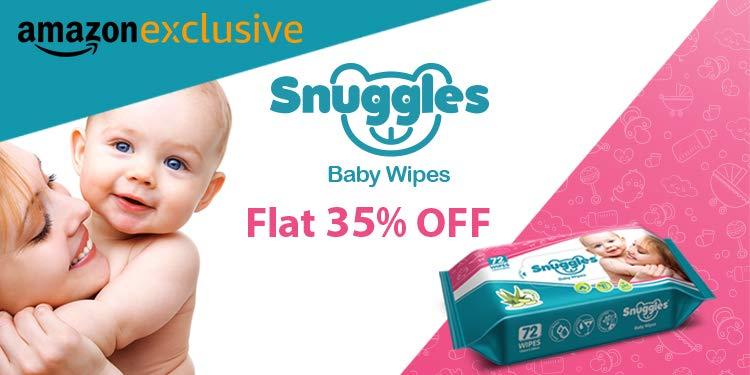 Snuggles: Flat 35% Off