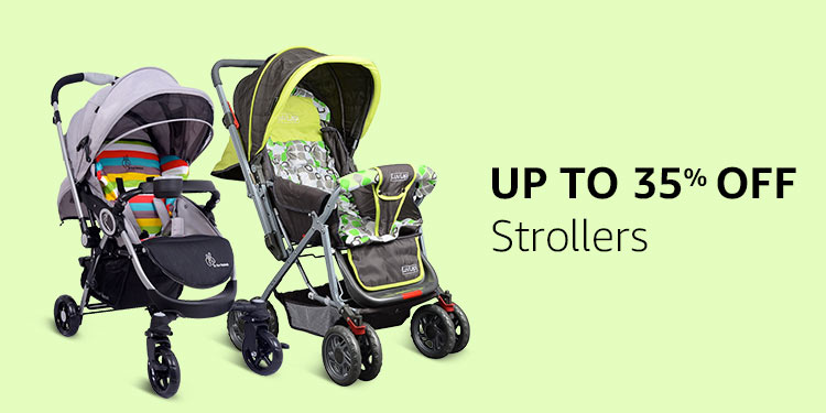 Up to 35% off Strollers