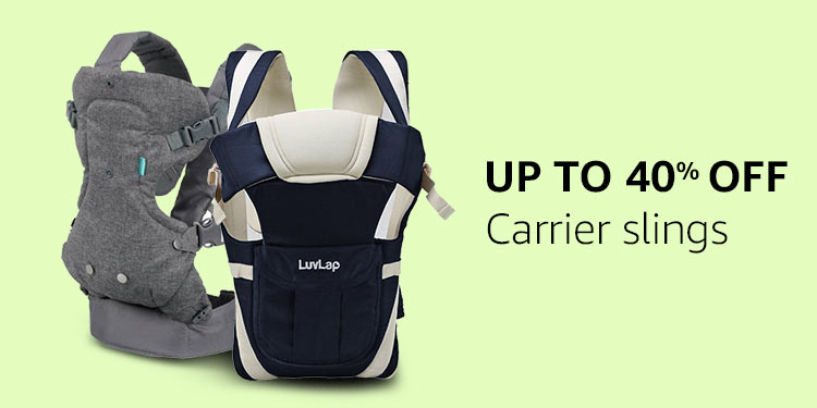 Up to 40% off Carrier slings