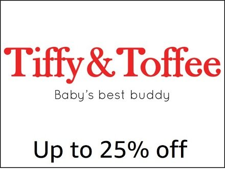 Up to 25% off Tiffy & Toffee