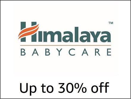 Up to 30% off Himalaya