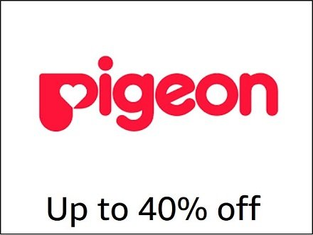 Up to 40% off Pigeon