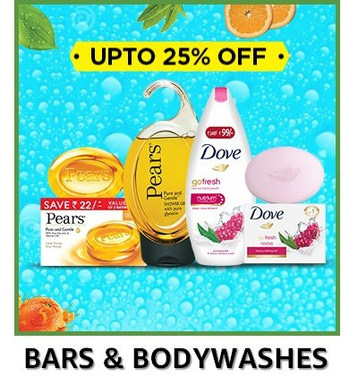 Bars and Bodywashes Pears Dive
