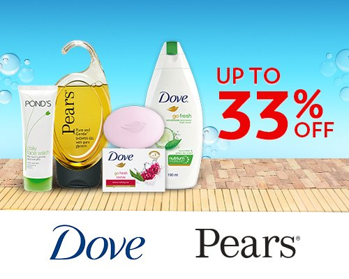 Dove and Pears
