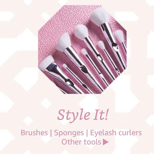 Brusgeh, sponges, eyelash curlers