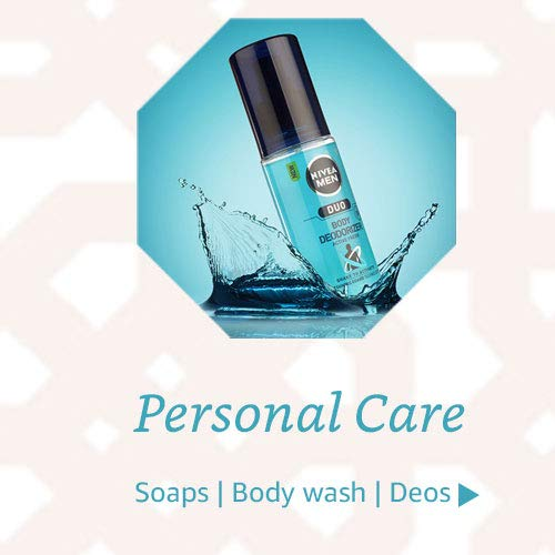 Soaps, body washes, deos