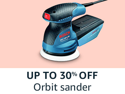 Orbit sander
