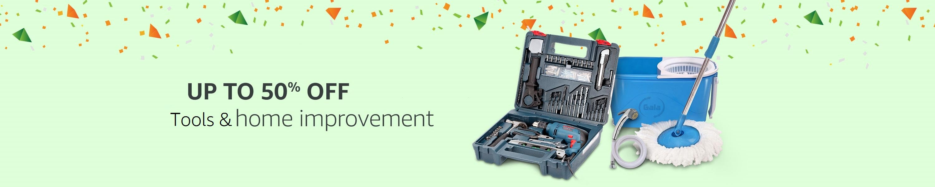 Up to 50% off Home Improvement