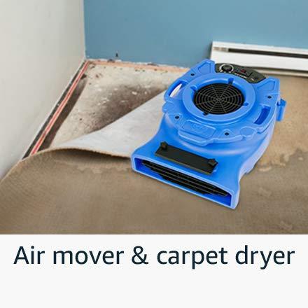 Air mover & carpet dryer