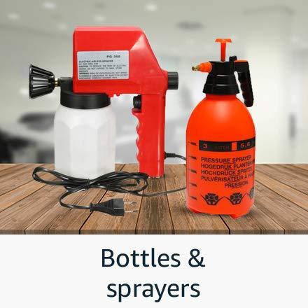 Bottles and sprayers