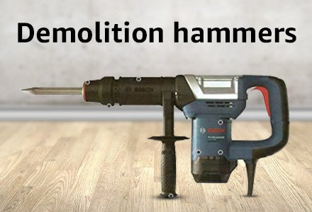 demolition hammers