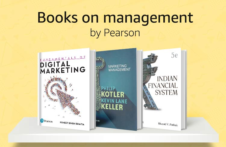 Books on management by Pearson