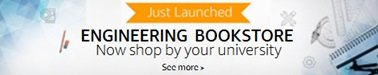 Engineering Bookstore: Now shop by your university