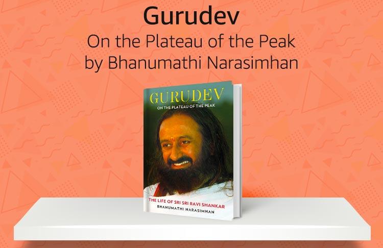 Gurudev on the plateau of the peak by Bhanumathi Narasimhan
