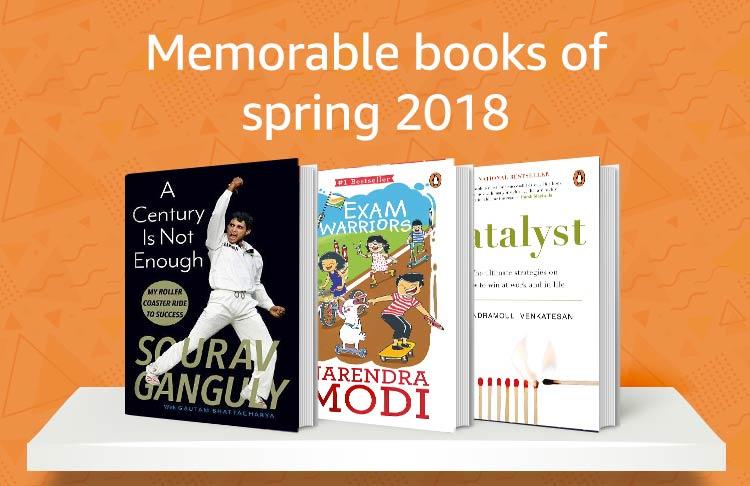 Memorable books of Spring 2018