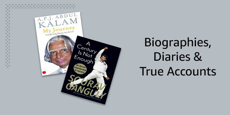Biographies, Diaries & True Accounts