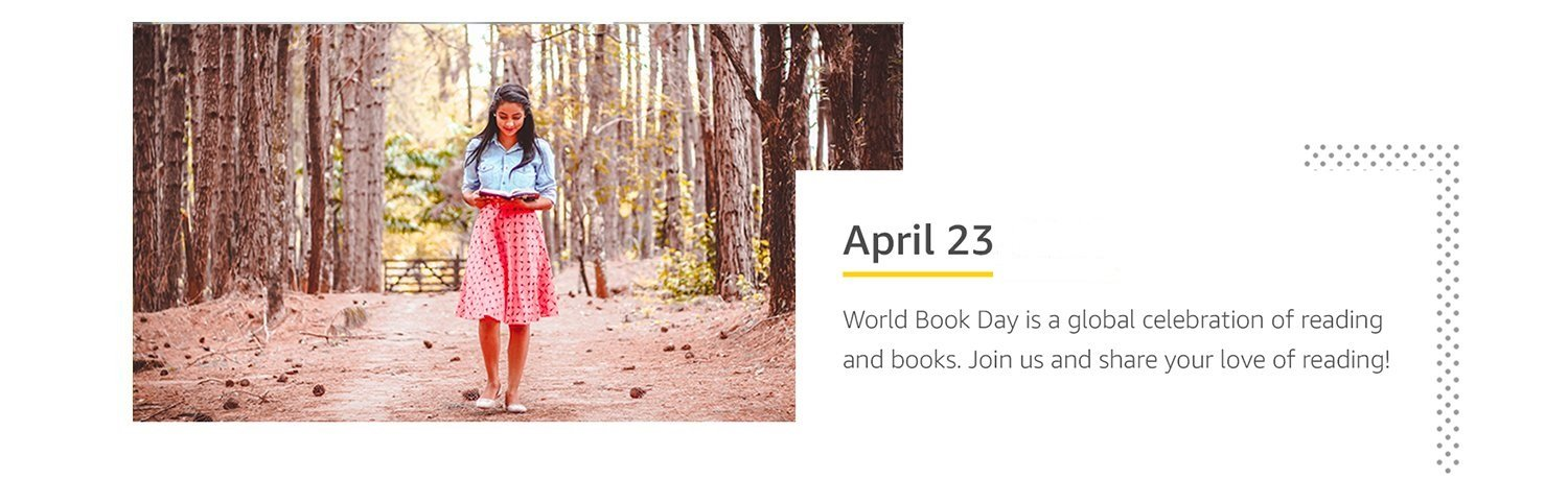 April 23, 2019 - World Book Day is a global celebration of reading