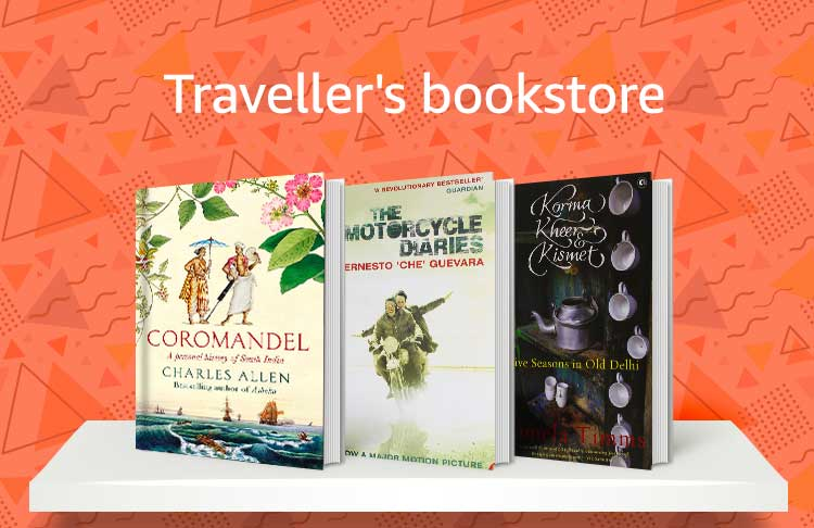 Traveler's bookstore