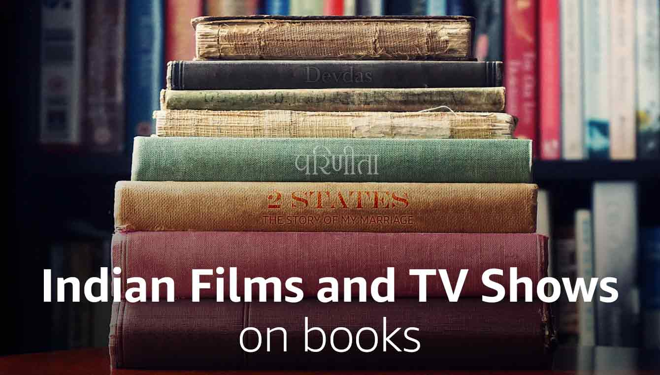 Indian films and TV shows on books