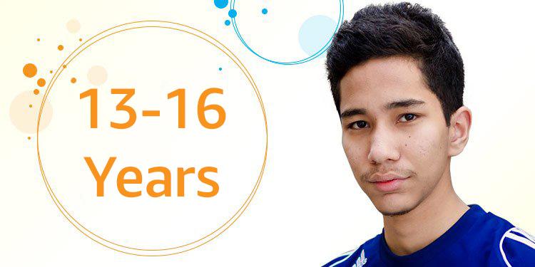 13-16 yrs