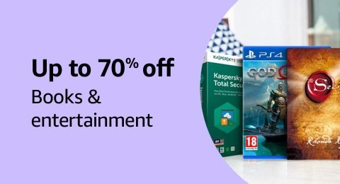 Up to 70% off: Books & entertainment