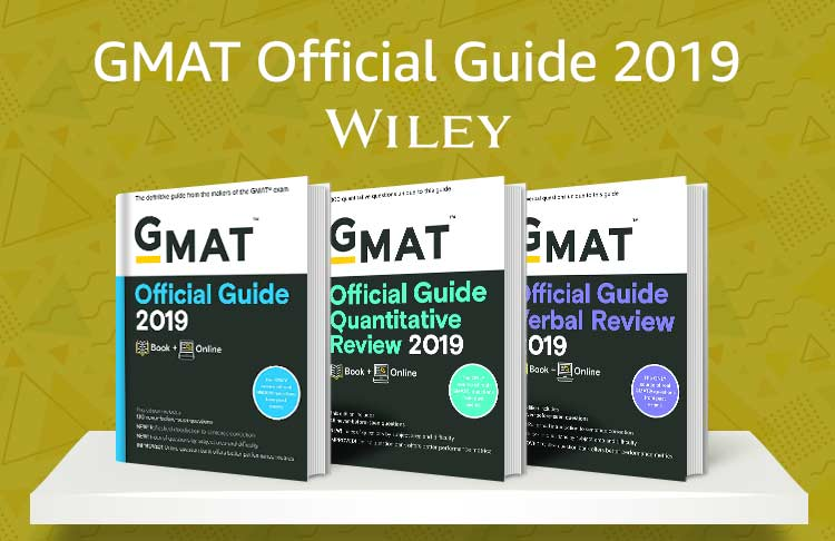 GMAT Official guide 2019 by Wiley