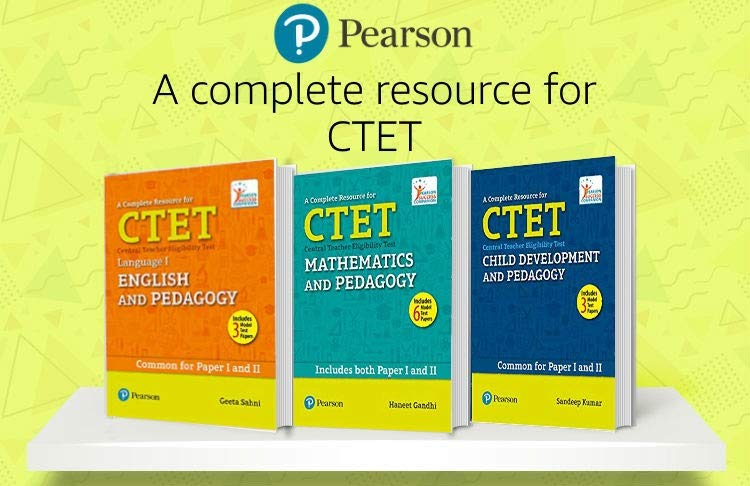CTET books by Pearson