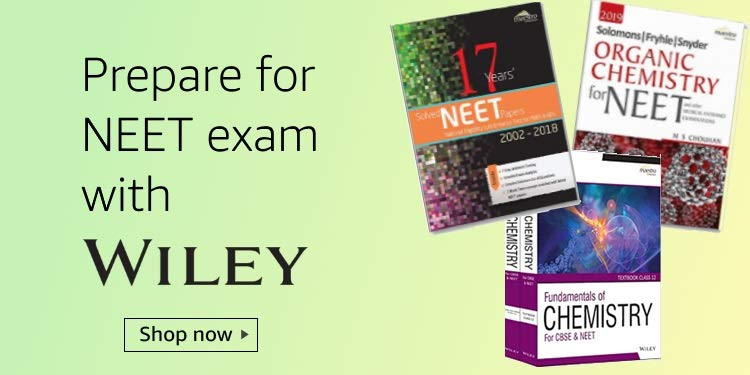 NEET books by Wiley
