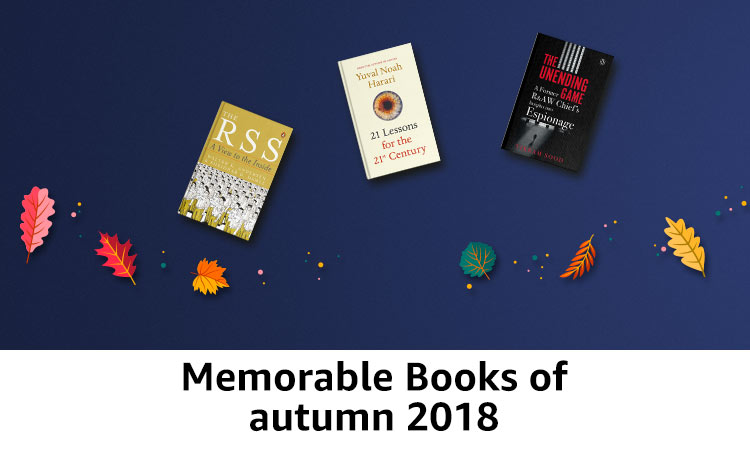 Memorable books of autumn 2018