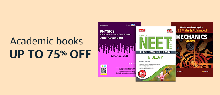 Up to 75% Off on Academic Books