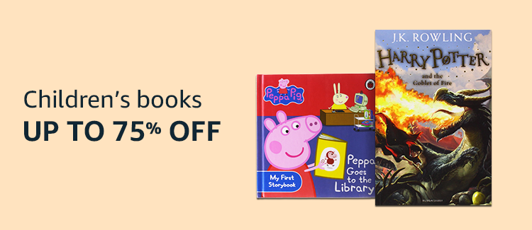 Up to 75% Off on Children Books