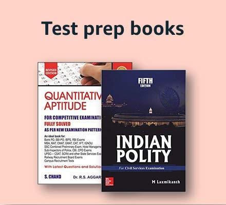 Test preparation books